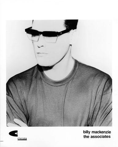 Billy Mackenzie Promo Print