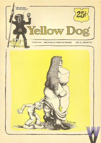 Yellow Dog No. 1 Vintage Comic
