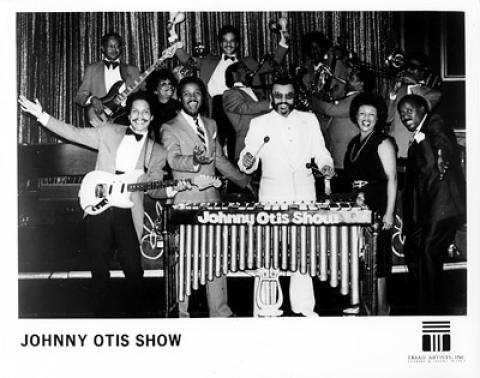 Johnny Otis Show Promo Print