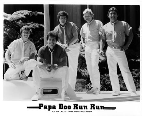Papa Doo Run Run Promo Print