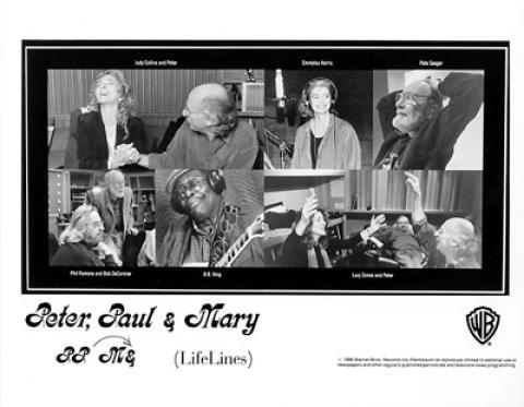 Peter, Paul & Mary Promo Print
