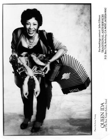 Queen Ida & The Bon Temps Zydeco Promo Print