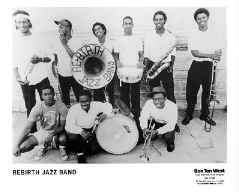 Rebirth Jazz Band Promo Print