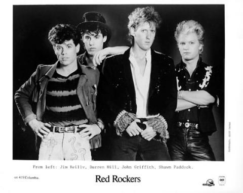 Red Rockers Promo Print