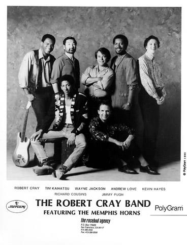 Robert Cray Band Promo Print
