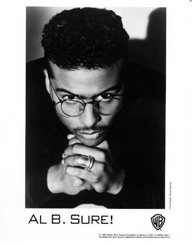 Al B. Sure Promo Print