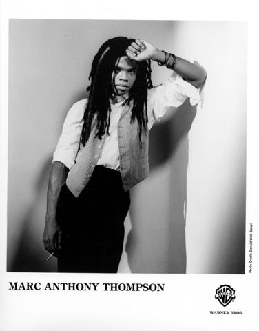 Marc Anthony Thompson Promo Print