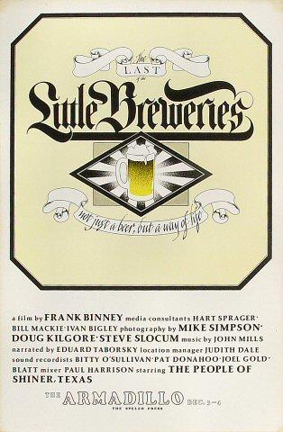 The Last of the Little Breweries Poster