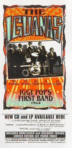 The Iguanas Handbill