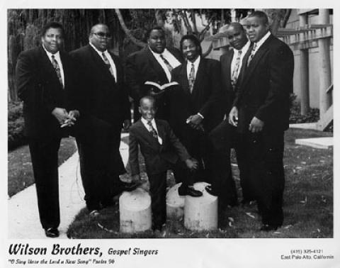 Wilson Brothers Promo Print