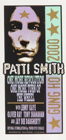 Patti Smith Handbill