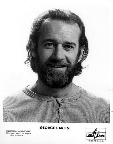 George Carlin Promo Print