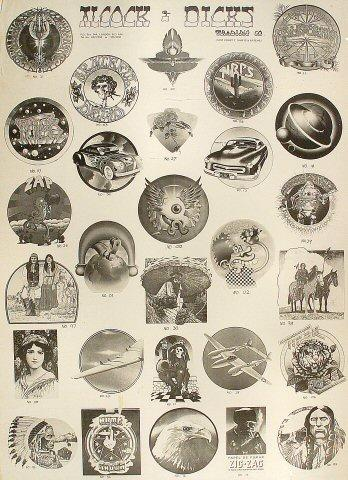 Alcock and Dicks Trading Co. Poster