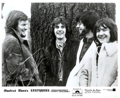 Manfred Mann's Earth Band Promo Print