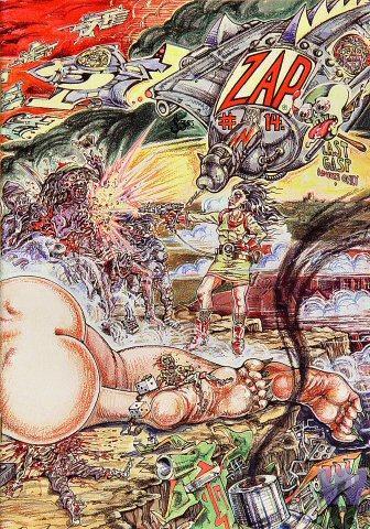 Last Gasp: Zap Comix No. 14