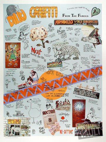 Dillo Graffiti Poster