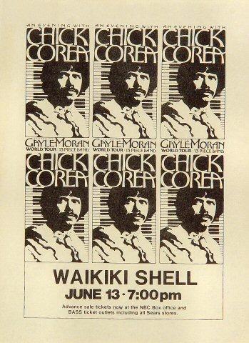Chick Corea Handbill