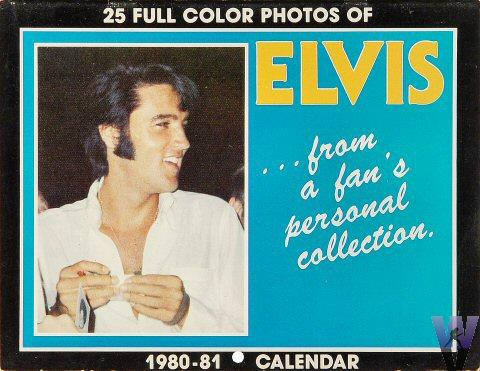 Elvis Presley Calendar