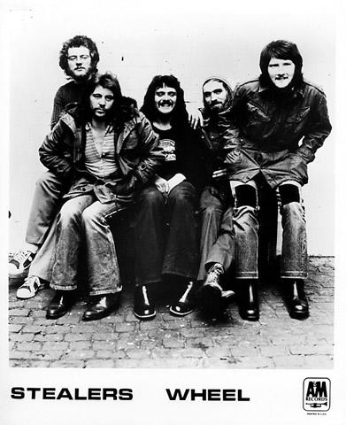 Stealers Wheel Promo Print
