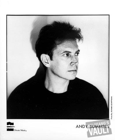 Andy Summers Promo Print
