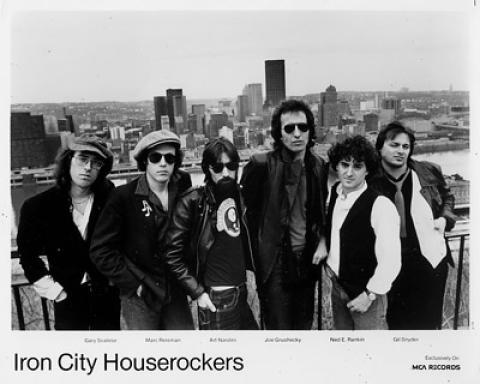 Iron City Houserockers Promo Print