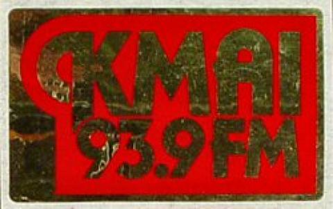 KMAI 93.9 FM Sticker