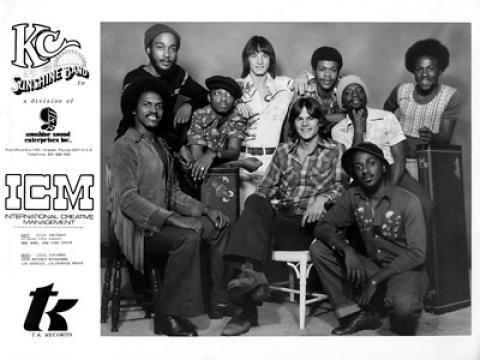 K.C. and the Sunshine Band Promo Print