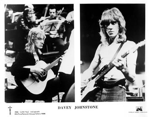 Davey Johnstone Promo Print