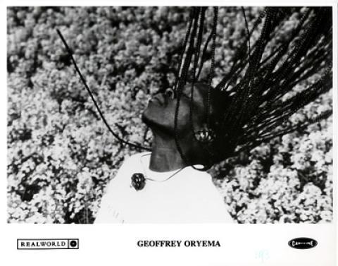 Geoffrey Oryema Promo Print