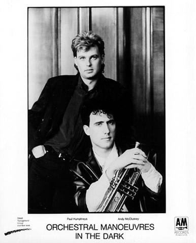 Orchestral Manoeuvres in the Dark Promo Print