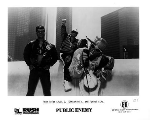 Public Enemy Promo Print