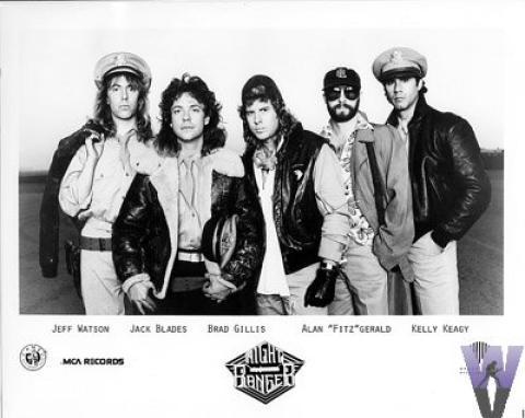 Night Ranger Promo Print