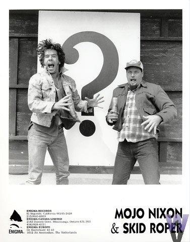 Mojo Nixon & Skid Roper Promo Print