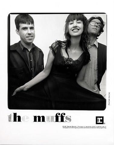 The Muffs Promo Print