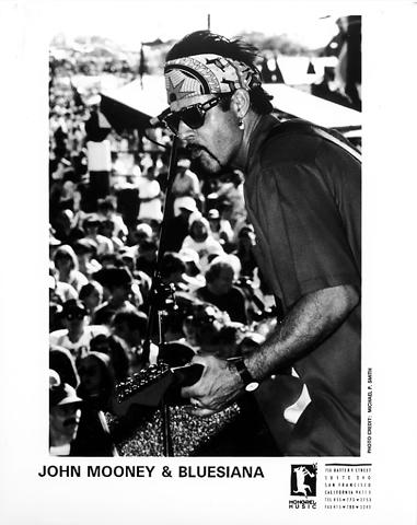 John Mooney & Bluesiana Promo Print