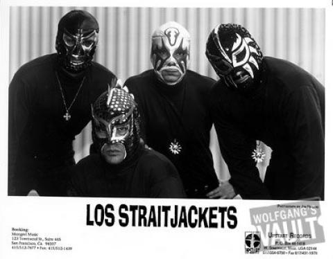 Los Straitjackets Promo Print