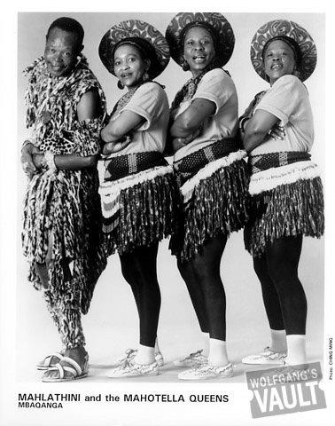 Mahlathini and the Mahotella Queens Promo Print