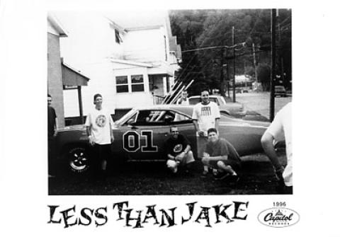 Less Than Jake Promo Print
