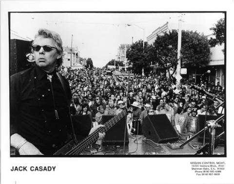 Jack Casady Promo Print