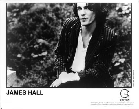 James Hall Promo Print