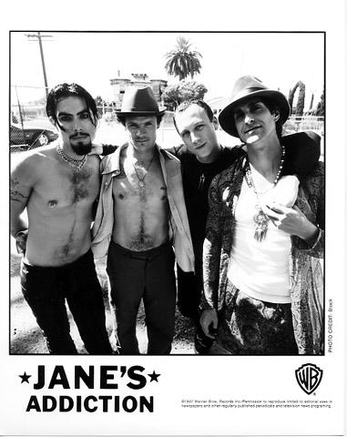 Jane's Addiction Promo Print
