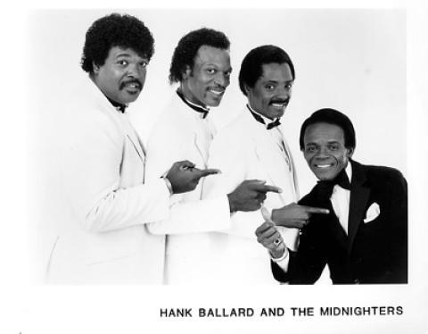 Hank Ballard & the Midnighters Promo Print