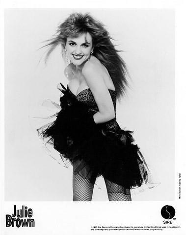 Julie Brown Promo Print