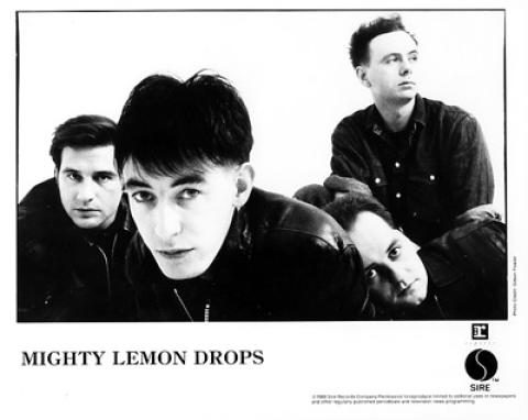 The Mighty Lemon Drops Promo Print