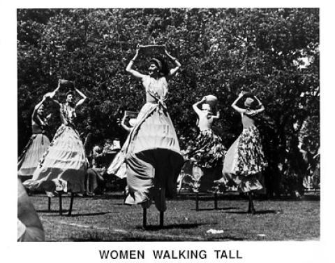 Women Walking Tall Promo Print