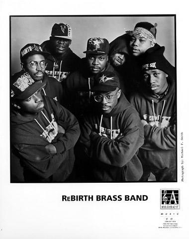 Rebirth Brass Band Promo Print
