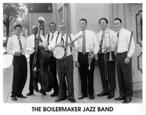 The Boilermaker Jazz Band Promo Print