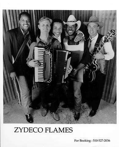 Zydeco Flames Promo Print