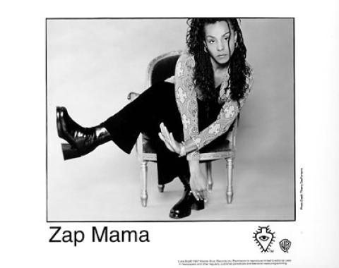 Zap Mama Promo Print
