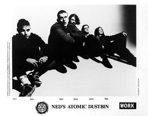 Ned's Atomic Dustbin Promo Print